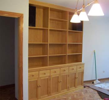 Home depot muebles madera muebles jardin america del sur for Bibliotecas muebles
