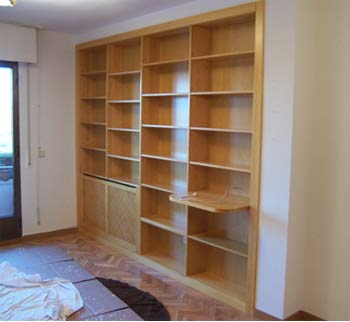 Catalogo bibliotecas muebles de salon la alacena segoviana for Libreria muebles