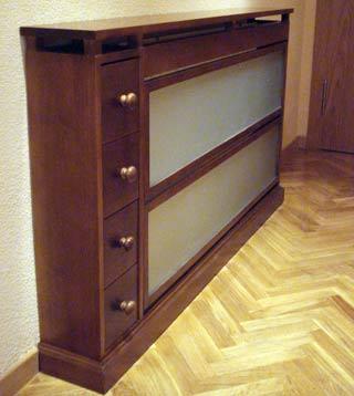 Elaboracion de muebles auxiliares cubreradiadores - Muebles para cubrir radiadores ...