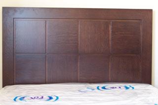 Elaboracion de cabeceros comodas siffonier de camas y - Cabeceros de forja y madera ...
