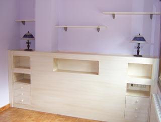 Elaboracion de cabeceros comodas siffonier de camas y dormitorios a medida - Cabeceros de madera a medida ...